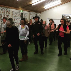Our year gets of to a flying start with Denise Shipp and the Shooting Star Line Dancers - fabulous n