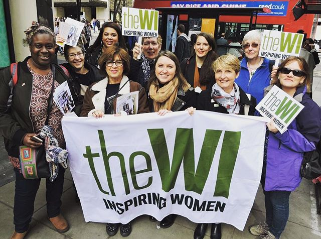 This was our group at #millionwomenrise on Saturday. Lovely meeting our WI Sisters from Somerset, Fo