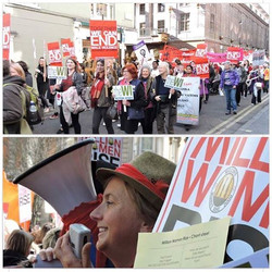 On Saturday March 11th, a few _elsenham_wi members will be marching with other women in the Million