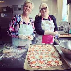 A few #ElsenhamWI members had a day out at Harlow College yesterday bread making. It was amazing! Ne