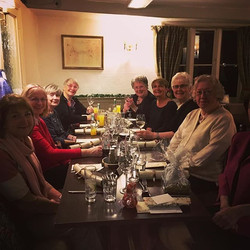 Committee Christmas Dinner - lovely evening with great food