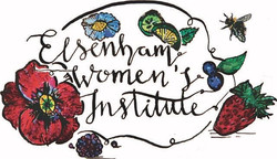 Elsenham WI is proud to reveal our new logo, illustrated by the very talented daughter of one of our