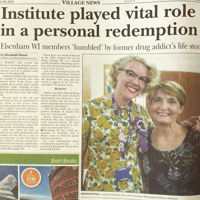 _i_am_lynseyj _moyrajacko Herts andEssex Observer run our article with the fabulous Joanne Croxford