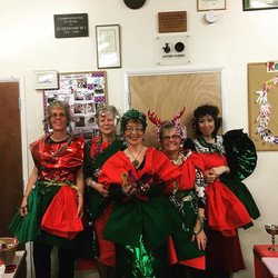 Christmas dress challenge - at our creative best!!!