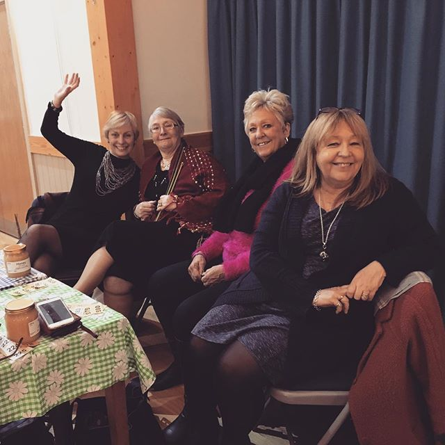 Lovely visit to Manuden WI - thanks for a wonderful night