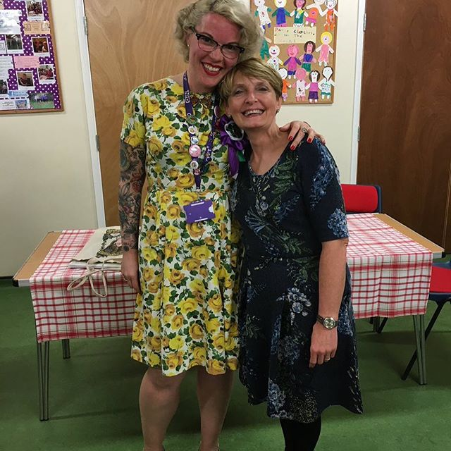 Great meeting tonight with the fabulous Joanne Croxford - so inspiring and such good fun!!