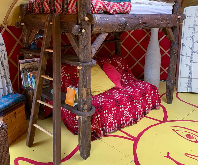 Cai Yurt's raised bed