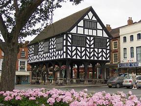 The Market House in Ledbury Herefordshir