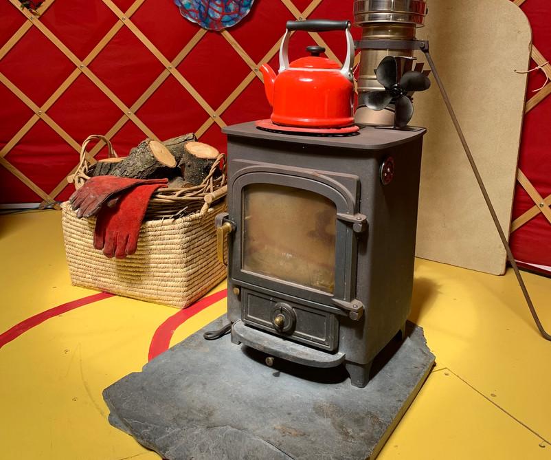 Cai Yurt Wood Burner