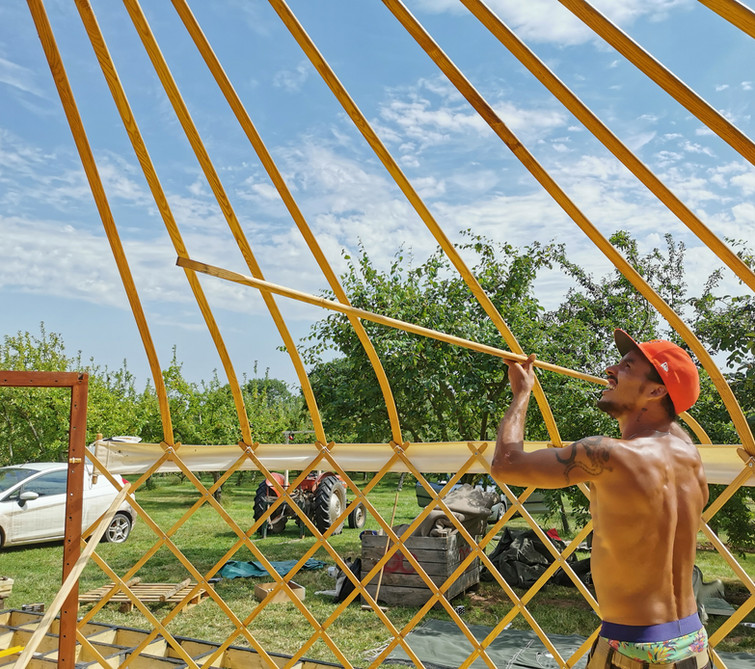 New Ash Yurt