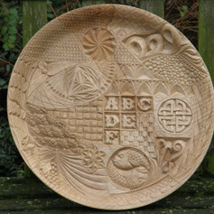 Dave Johnson_wood carvings_carved platter 2.jpg