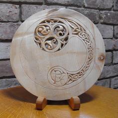 Dave Johnson_wood carvings_Plate M&D.jpg