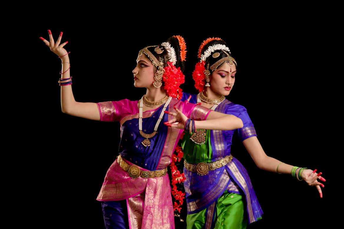 Aneesha & Anuja from Kuchipudi Dance Aca