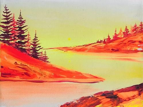 """Wild Fire for You 8""""x10"""""""