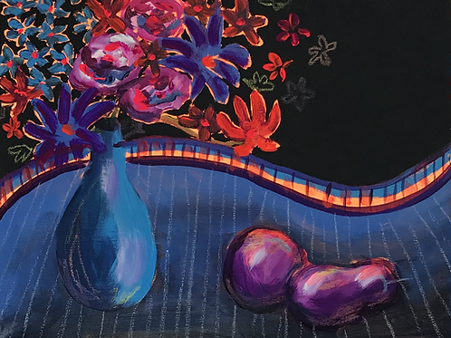 """Flower and Fruit 11""""x14"""""""