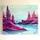 """Thumbnail: Pink Sun 20""""x24"""""""