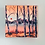 """Thumbnail: Dusty Birch Trees on a humid day 5""""x5"""""""