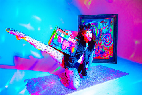 Psychedelic pose 3