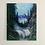 "Thumbnail: Misty Waterfall 16""x20"""