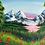 """Thumbnail: Cotton Candy Lake 16""""x20"""""""