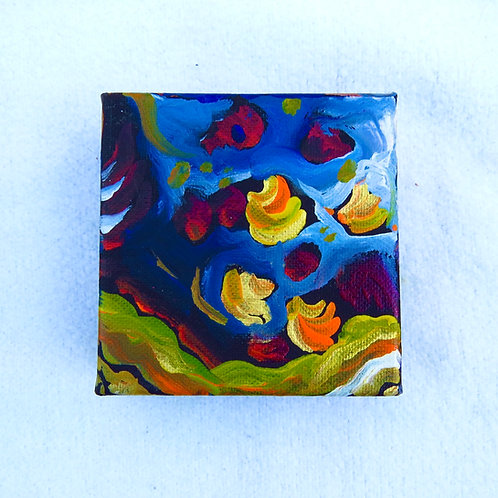 """Abstract #1 4"""" X 4"""""""