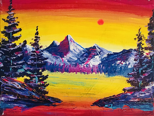 """A New Day 8""""x10"""""""