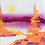 """Thumbnail: Orange Trees 4""""x4"""""""
