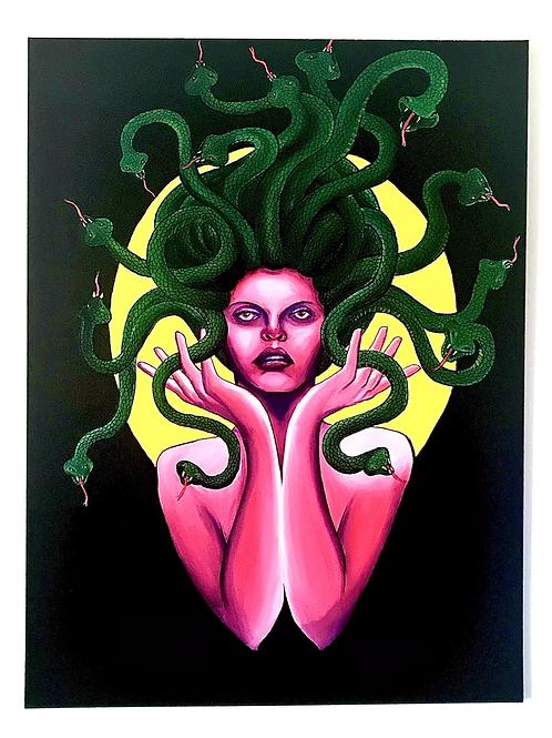 "Medusa Goddess 40""x60"""