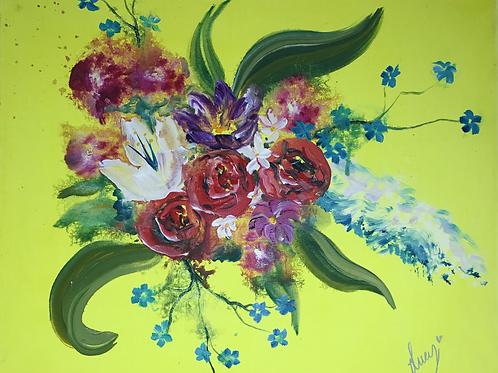 "Bursting Bouquet 18"" X 20"""
