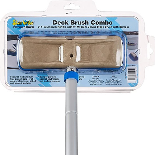 DECK BRUSH COMBO