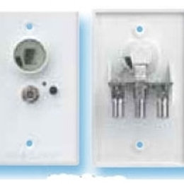 POWER SUPPLY WALL PLATE
