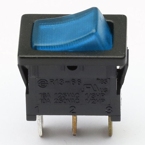 12V BLACK AND BLUE ON/OFF SWITCH