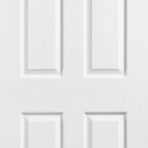 28 X 78 SIX PANEL INTERIOR DOOR WHITE