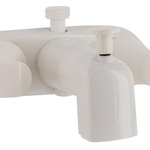 WHITE CATALINA COLLECTION TUB/SHOWER