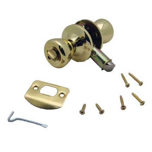 PRIVACY LOCK SET GOLD