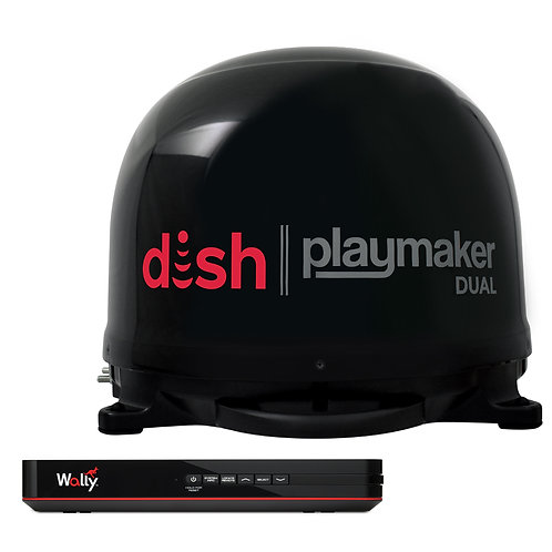 DISH WITH RECEIVER