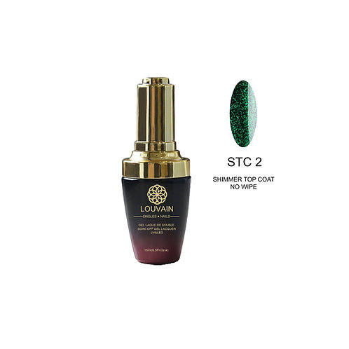 SHIMMER TOP COAT (NO WIPE) - STC2