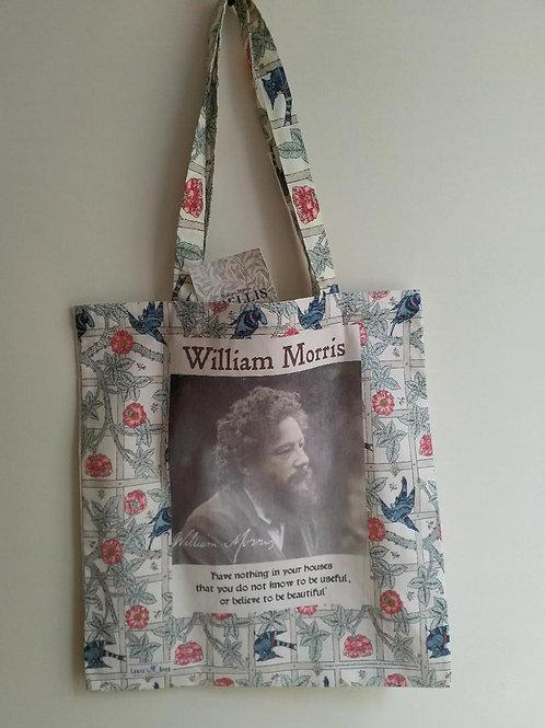 William Morris cotton tote bag