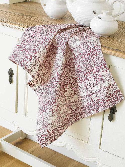 Brother Rabbit Tea Towel - Red
