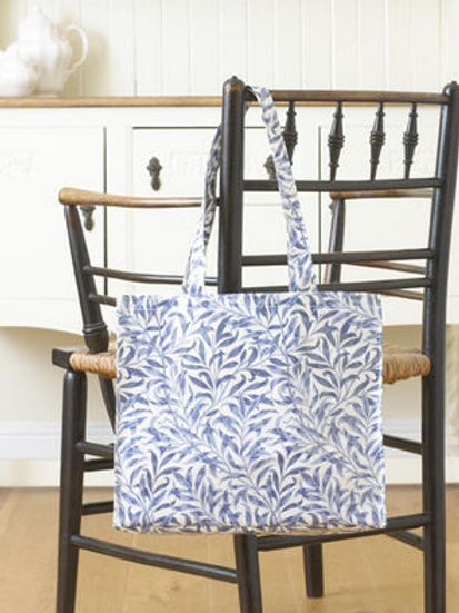 Blue Willow Bough Long handled PVC Tote Bag