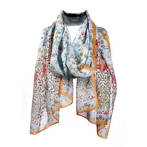 Morris Daisy Chiffon scarf