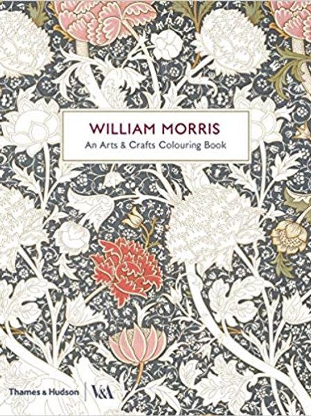 William Morris: Arts & Crafts Colouring Book