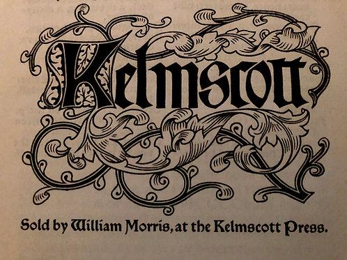 William Peterson: The Kelmscott Press books in a 19th century context
