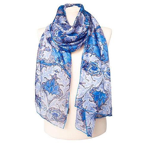Morris St James's habotai silk scarf