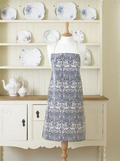 Brother Rabbit PVC apron, blue