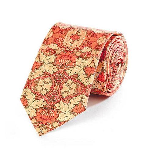 William Morris St. James's silk tie