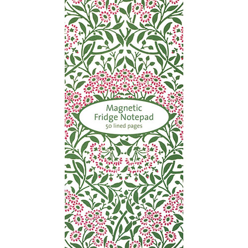 Michaelmas Daisy Magnetic Notepad
