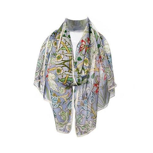 Morris Bluebells Chiffon scarf