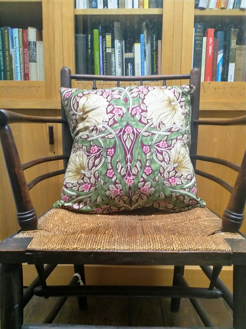 Cushion cover - Pimpernel (Aubergine)