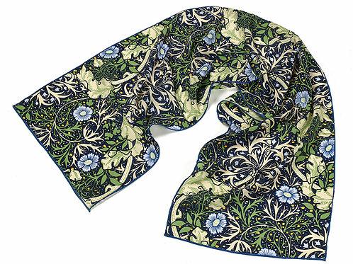 Morris Seaweed Silk Scarf